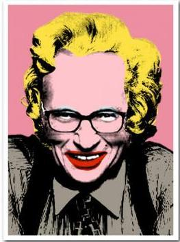 Mr. Brainwash, Larry King 